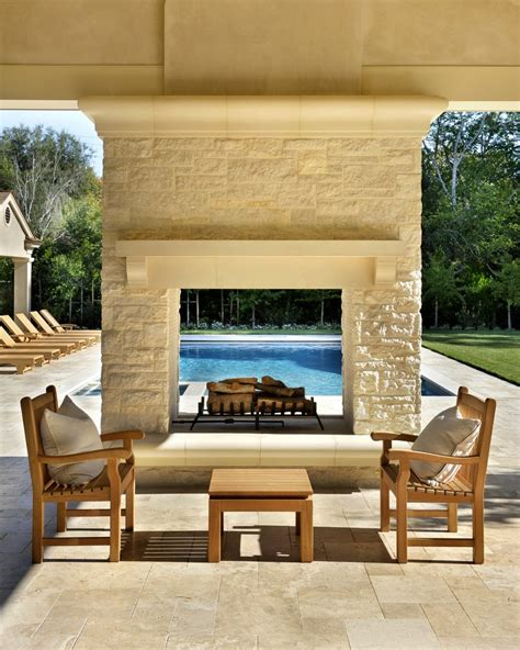 Outdoor Fireplace Modern by Modern Outdoor Fireplace Patio With Sofa Sets5