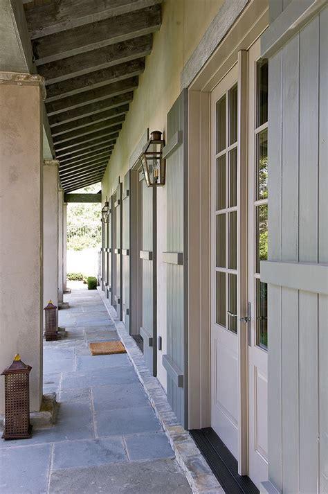 Exterior Door Shutters Doors With Shutters Exterior Details