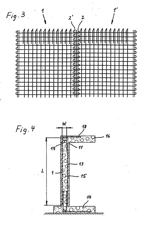 l steine bewehrt patent ep1741851b1 grillage d armature pour b 233 ton arm 233