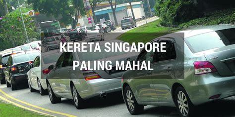Paling Mahal Harga Kereta Di Singapura Paling Mahal Di Dunia Mynewshub