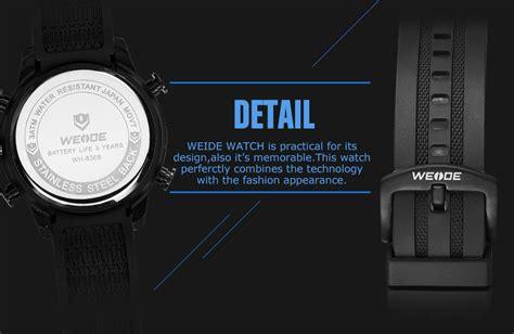 Aah188 Weide Jam Tangan Digital Analog Silicone Wh6308 weide jam tangan digital analog stainless steel wh6308 black jakartanotebook