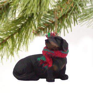 1 x dachshund miniature ornament black home kitchen