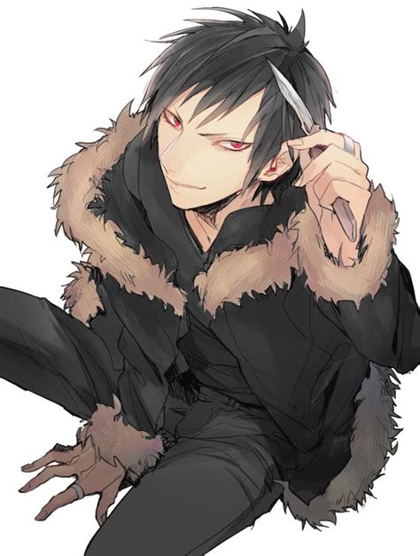 how to cut your hair like izaya orihara tags anime dagger ring durarara orihara izaya fur