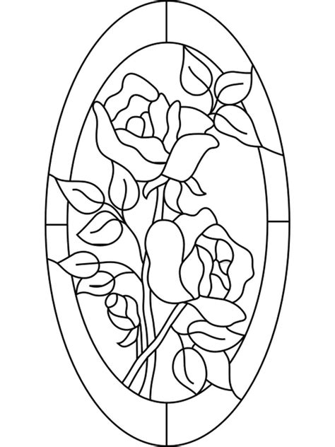 Stained Glass Coloring Pages | ColoringPagesABC.com