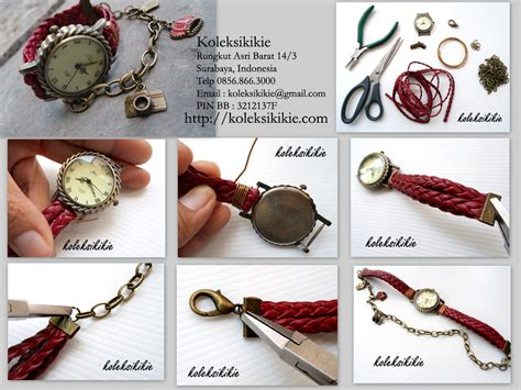 tutorial membuat video unik membuat jam tangan gelang sendiri koleksikikie