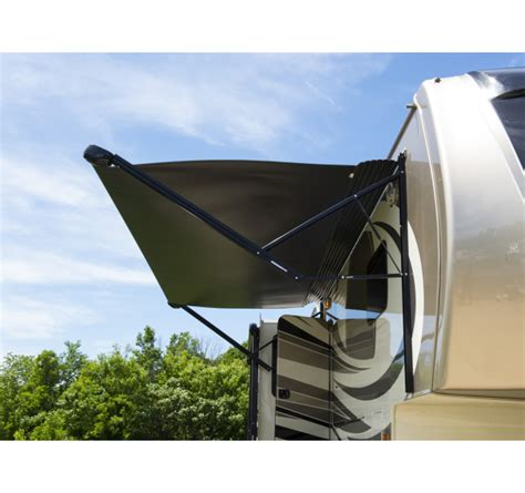 solera rv awnings lippert solera powered and hybrid standard and xl rv awnings