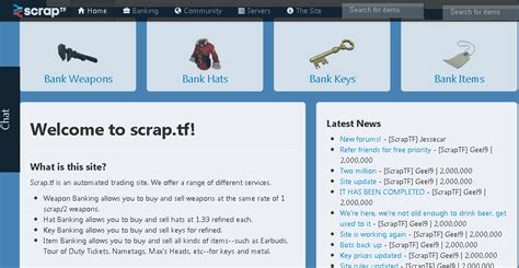 tf2 how to scrap bank random nix and other fixes scrap tf automated tf2