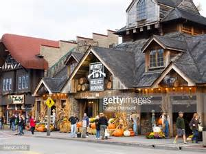 Halloween Decorations Usa Halloween Decorations Gatlinburg Tennessee Usa Stock Photo