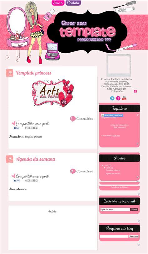 arts da tata template personalizado doa o tumblr arts da tata template personalizado princess