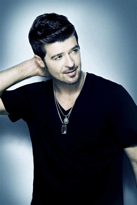 Robin Hecke by Premiere Robin Thicke S Therapy