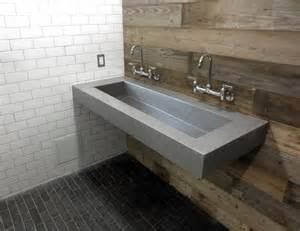 60 Ada Vanity Concrete Ada 60 Quot Compliant Bathroom Sink Contemporary