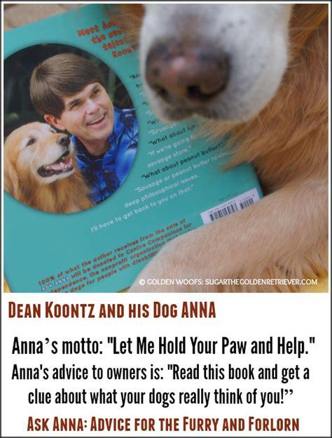 dean koontz golden retrievers dean koontz and his golden woofs