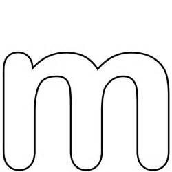 Letter M Template by Letter M Template Templates