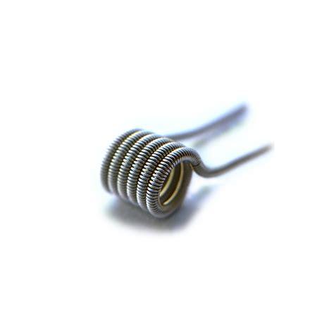 Fused Clapton Coil Vapor Best Quality Use Kanthal A1 Vapowire Usa clapton coils kanthal nichrome 80 definitive 2 wicks wires vape shoppe