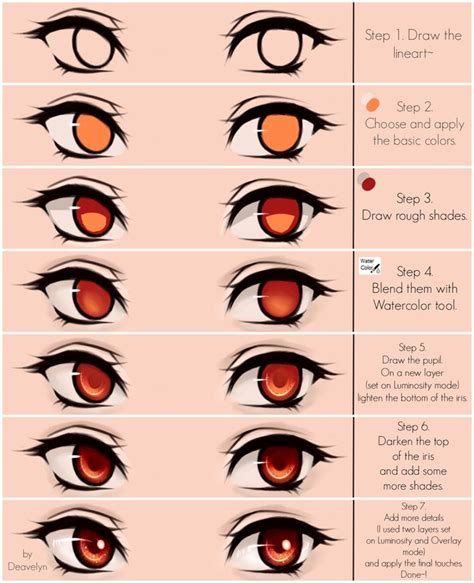 210 best images about eye reference on how to