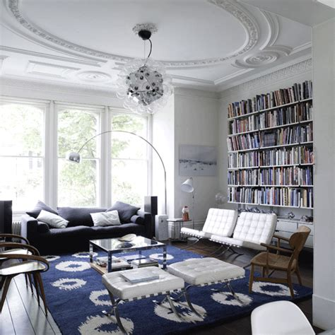 10 decorative living room with ceiling molding ideas eye for design decorating with the barcelona chair