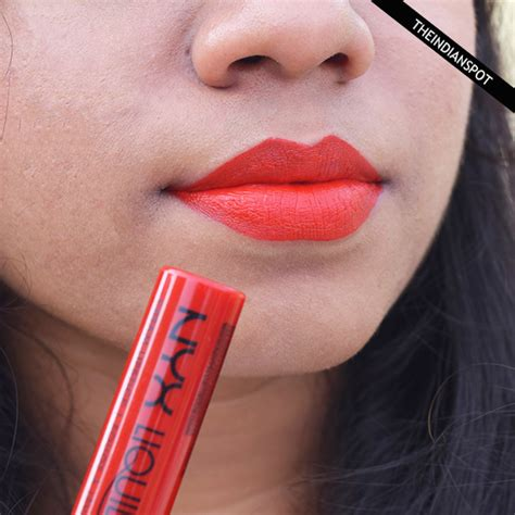Lipstik Nyx Liquid Suede nyx liquid suede lipstick in kitten heels review