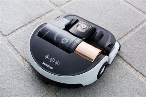 samsung vr9000 powerbot robotic vacuum airborne copper