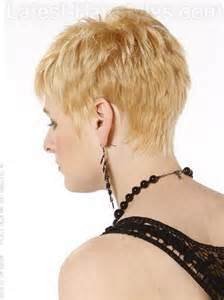pictures of back pixie hairstyles back of pixie hairstyles