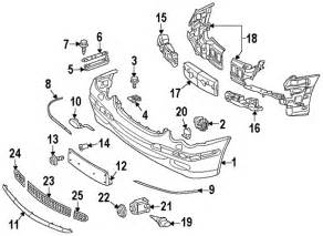 parts 174 mercedes bumper joint partnumber 2098850423
