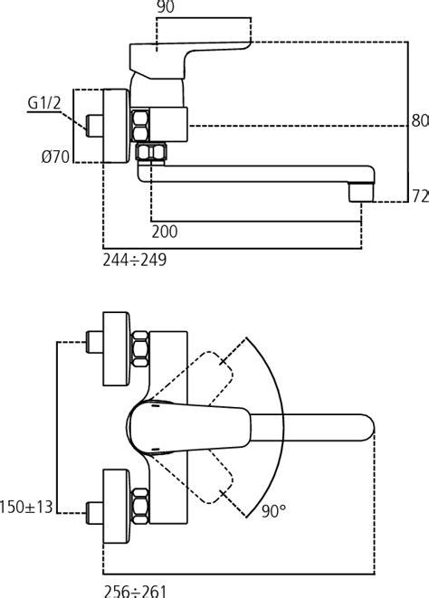 rubinetto dwg dettagli prodotto b0726 miscelatore esterno a