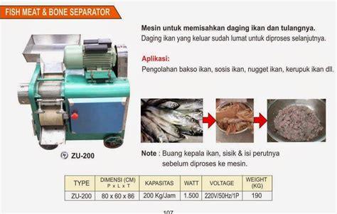 Jual Freezer Untuk Daging jual mesin untuk memisahkan daging ikan dan tulangnya