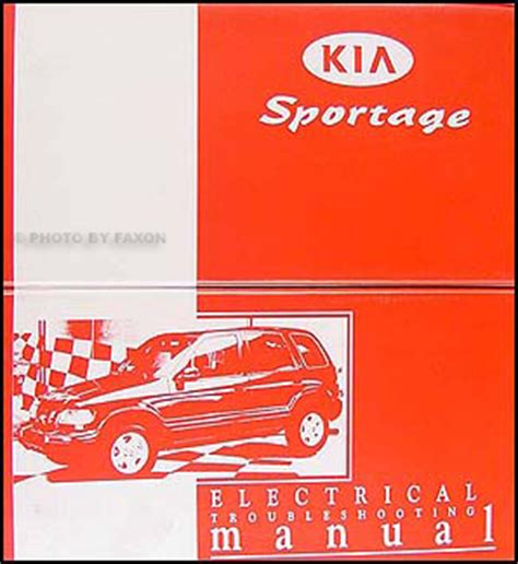 old car owners manuals 2001 kia sportage transmission control 1998 2001 kia sportage repair shop manual original