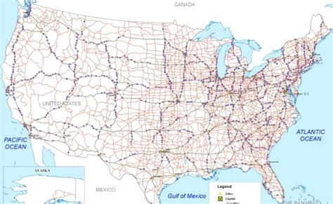 driving map driving maps of usa my