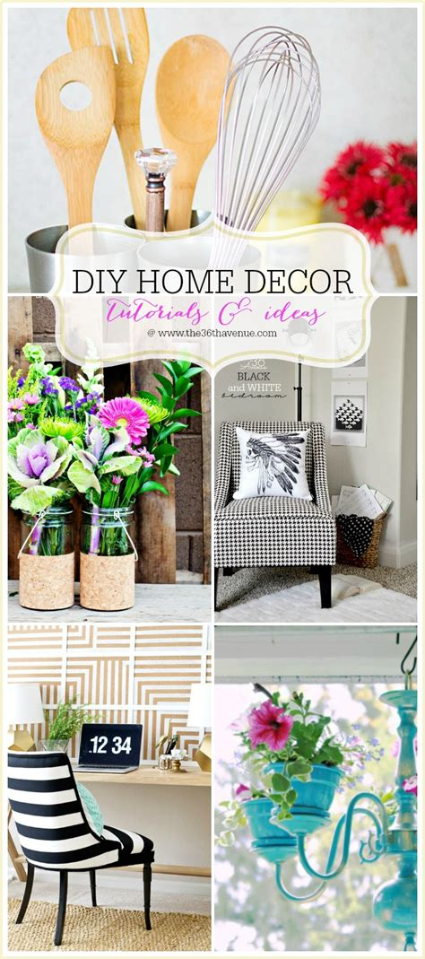 check out all of these diy home decor tutorials and