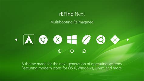 theme about refind next theme by sdbinwiiexe on deviantart
