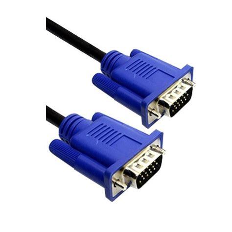 Kabel Vga Komputer vga monitor kabel zwart 1 5 meter vga computer