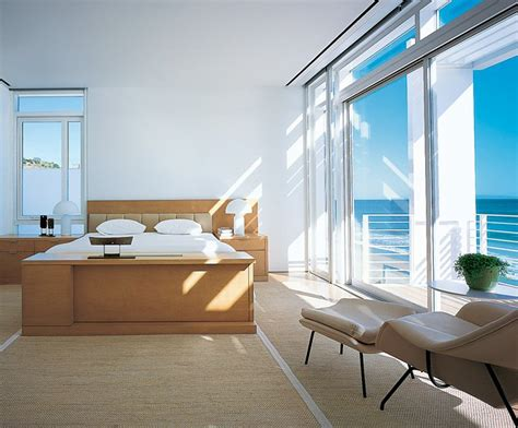 beach house bedroom beachfront house in california