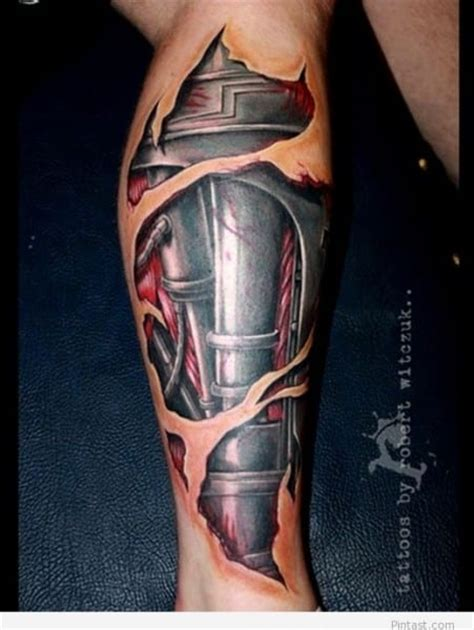 man of steel tattoo designs leg tattoos for ideas and designs for guys