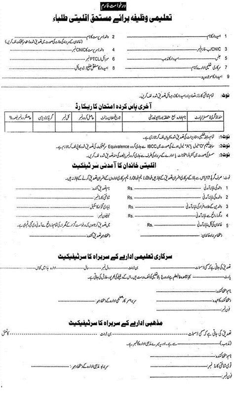 Mba Scholarships And Grants For Minorities by Punjab Govt Scholarships For Minority Students For Year