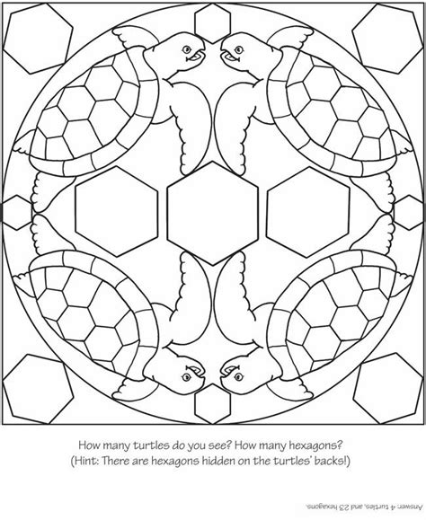 turtle mandala coloring pages printable crafts actvities and worksheets for preschool toddler and