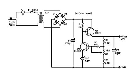 Power Lifier 12 Volt 12 volt 5 power supply circuit diagram wiring diagram