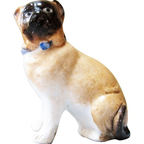 pug dog house beautiful miniature bisque pug dog for doll house from vintagecharm on ruby lane