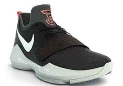 Sepatu Basket Nike Pg 1 Paul George 1 Black nike pg 1 paul george signature shoe sneaker bar detroit