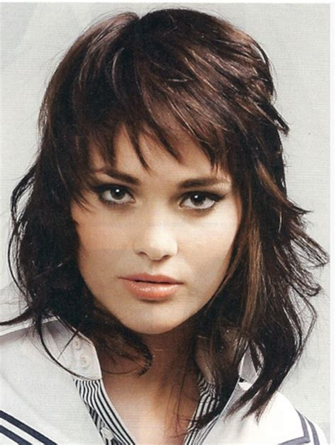 google short shaggy style hair cut shag hairstyles for women