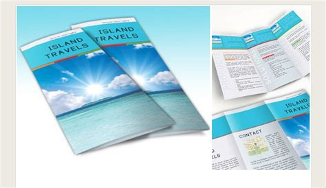 6 adobe indesign brochure template af templates