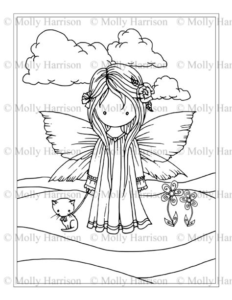 libro whimsical world coloring book whimsical world coloring books and pages the fairy art and fantasy art of molly harrison