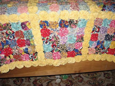 Pattern For Yo Yo Quilt   free yo yo quilt patterns in my opinion the patterned