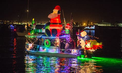 mission bay christmas boat parade of lights san diego