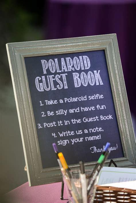 va 25 polaroid book 25 cute polaroid guest books ideas on polaroid wedding guest book polariod guest