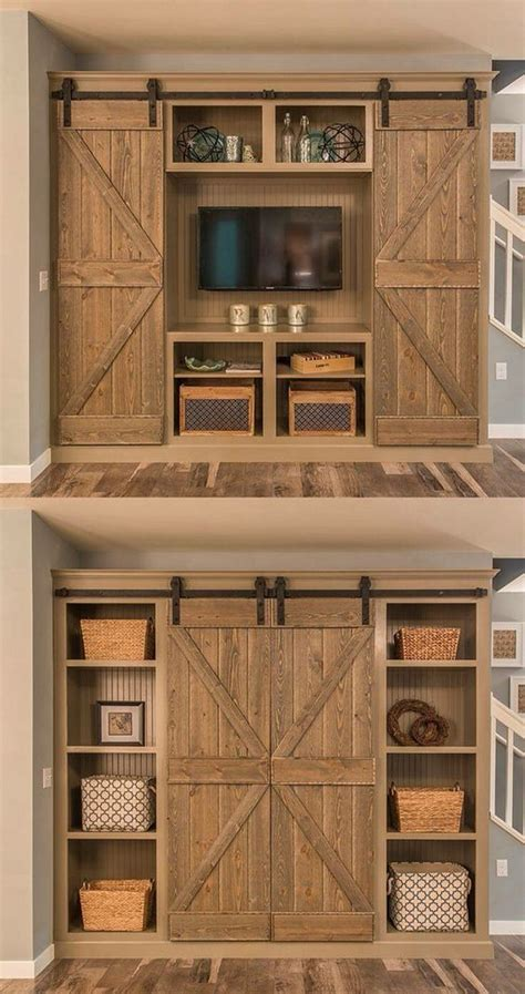 hidden tv with doors hiding a tv in plain sight home bunch interior design ideas