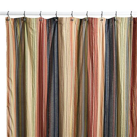 Cotton Fabric Shower Curtains Retro Chic Fabric Shower Curtain 100 Cotton Bed Bath Beyond