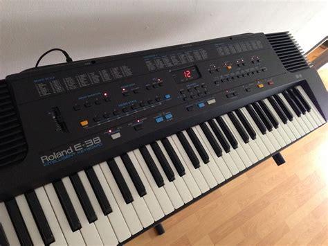 Keyboard Roland E 38 roland e 38 image 660778 audiofanzine