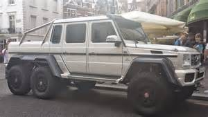 Mercedes Suv 6x6 File White Mercedes G 63 Amg 6x6 Fr London14 Jpg