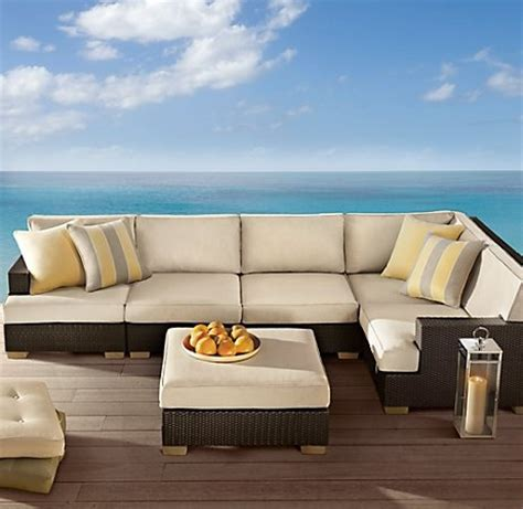 restoration hardware outdoor furniture the great