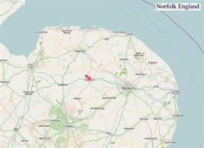 Norfolk England Map by A Map Of Norfolk England Norfolk Uk Map